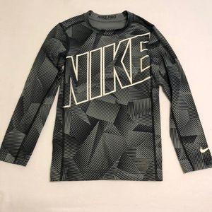 NWOT Boy's Nike Pro Compression Long Sleeve Shirt